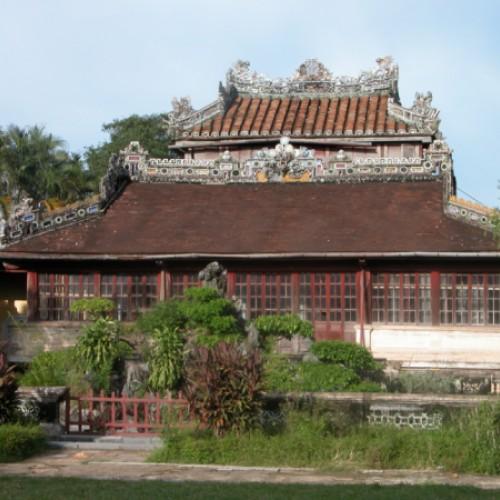 Alte chinesische Baukunst in der Kaiserstadt Hue